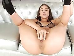 Blowjob, Brunette, Flexible, Hairy, Handjob, Hardcore, High Heels, Oral Sex, Rough, Whore,