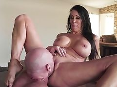 69, Big Tits, Blowjob, Brunette, Cowgirl, Cum In Mouth, Cumshot, Dick, Doggystyle, Fake Tits,