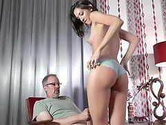 Ass, Blowjob, Bra, Couple, Cunnilingus, Cute, Dick, Hardcore, Natural Tits, Old,