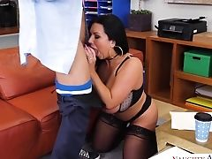 Ass, Big Tits, Blowjob, Boots, Brunette, Casting, Chubby, Condom, Cougar, Cowgirl,
