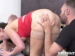 Anal Sex, Ass, Ass Fucking, Big Tits, Blowjob, Boots, Brunette, Cowgirl, Creampie, Dick,