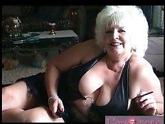 Compilation, Granny, Masturbation, Mature,