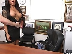 Ass, Big Tits, Blowjob, Brunette, Casting, Clamp, Couple, Cute, Doggystyle, Fake Tits,