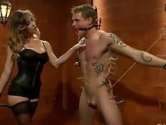 Anal Sex, BDSM, Femdom, Leather, Strapon,