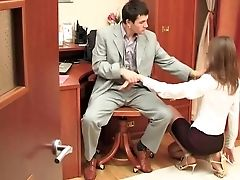 Anal Sex, Boss, Punishment, Russian, Secretary,