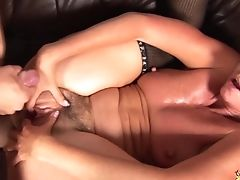 Big Tits, Blowjob, Brutal, Couple, Hairy, Hardcore, MILF, Mom, Rough, Short Haired,