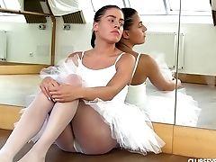 Bambola, Ballerina, Erotico, Masturbarsi, Capelli Lunghi, Modella, Nylon, Pantyhose, Russi, Sexy,