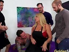 Big Tits, Karen Fisher, Mature, Old,