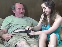 Babe, Handjob, Old, Old And Young, Teen,