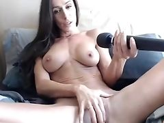 Big Tits, Brunette, Exotic, Homemade, Masturbation, MILF, Sex Toys, Solo, Webcam,