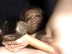 Ass, Clamp, Close Up, Fetish, Insertion, Masturbation, Model, Pussy, Solo, Webcam,