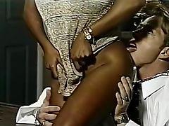 Big Ass, Big Tits, Blowjob, Cunnilingus, Horny, Interracial, Kim Kitaine, Nikki Sinn, Pornstar, Vintage,