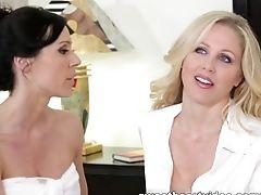 Blonde, Brunette, Exotic, HD, Julia Ann, Kendra Lust, Lesbian, Pornstar,