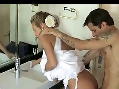 Blonde, Cheating, Facial, MILF, Wedding,