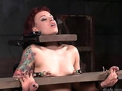BDSM, Bondage, Fetish, Ginger, Redhead, Rough, Strapon, Torture, Whore,