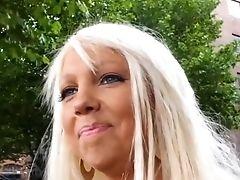 Blonde, Blowjob, Condom, Fetish, MILF, Nutella, Pick Up, Street,