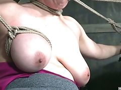 BDSM, Bondage, Hardcore, Iona Grace, Jerking, Slut,