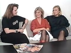 Amateur, Audition, Old And Young, Stockings, Swedish,