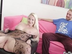 Anal Sex, Ass Fucking, Black, Blonde, Blowjob, Chubby, Close Up, Cuckold, Doggystyle, Fingering,