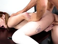 Babe, Blowjob, Boobless, Classroom, Cowgirl, Cum In Mouth, Cumshot, Desk, Extreme, Hardcore,