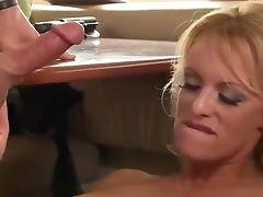 Big Cock, Blonde, Compilation, Cumshot, Stormy Daniels,