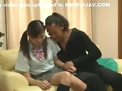 Boobless, Bride, Couple, Cunnilingus, Japanese, Jav, Stockings,