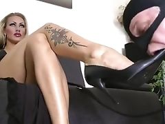 Femdom, Foot Fetish, Mistress, Submissive,