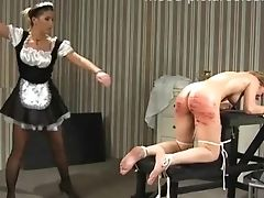 Babe, BDSM, Femdom, Fetish, Horny, Maid, Naughty, Punishment, Spanking,