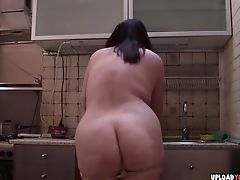 BBW, Big Tits, Brunette, Cunt, Fat, Fingering,