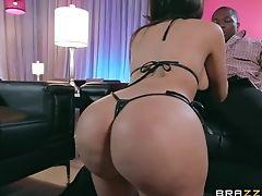 Ass, Big Black Cock, Couple, Cumshot, Facial, Hardcore, Interracial, Lela Star, Long Hair, MILF,