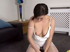Babe, Big Tits, Brunette, Cute, Flashing, HD, Housewife, Nipples, Ponytail, Softcore,