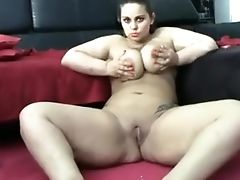 Ass, BBW, Big Ass, Big Tits, Chubby, Interracial, Jerking, Masturbation, Smoking, Solo,