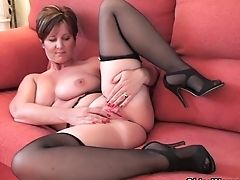 Big Tits, Gorgeous, Granny, Lingerie, Mature, MILF, Stockings,
