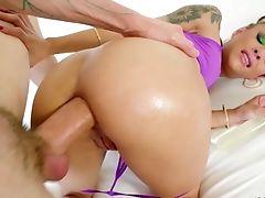 Sexo Anal, Brinquedo Anal, Sexo Anal, Pau Grande, Boquete, Vaqueira , Ejaculação , Estilo Cachorro, Facial, Hardcore ,