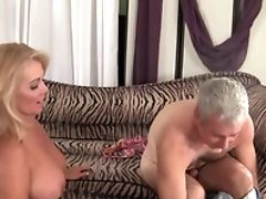 Big Tits, Blonde, Crying, Dick, Mature, Old, Pussy, Rough,