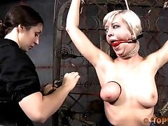 BDSM, Bondage, Cherry Torn, Gagging, Sex Toys, Submissive, Torture,