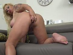 Big Tits, Blonde, Butt Plug, Mature, MILF,