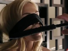 BDSM, Blindfold, Bondage, Christie Stevens, Fetish, Submissive,