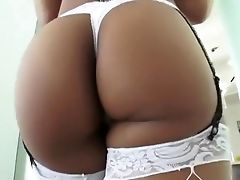 Anal Sex, Ass, Blonde, Cumshot, Gaping Hole, Interracial, Rimming, Threesome,