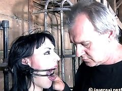 BDSM, Caning, Natural Tits, Submissive, Torture,
