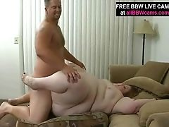 BBW, Belly, Dick, Fat, Pussy,