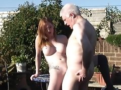 Big Tits, Grandpa, Hardcore, Old And Young, Seduction, Sexy,