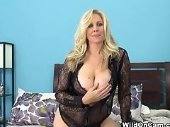 Big Tits, Blonde, Dildo, Julia Ann, Masturbation, MILF, Pornstar, Sex Toys,