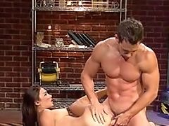 Anal Sex, Babe, Blowjob, Brunette, Doggystyle, Ethnic, Facial, Glasses, HD, Long Hair,