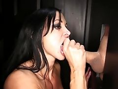 Babe, Blowjob, Cum, Cum In Mouth, Cum Swallowing, Cumshot, Fitness, Glory Hole, Gokkun, Jewels Jade,