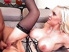 Amateur, Big Tits, Blonde, Blowjob, Facial, Fake Tits, From Behind, HD, MILF, Oral Sex,