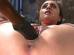 BDSM, Bondage, Gagging, HD, Jerking, Nymphomaniac, Rough,