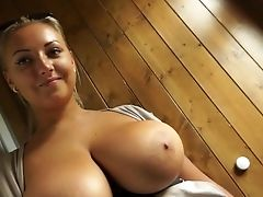 Amateur, Babe, Blonde, Blowjob, Cigarette, European, Forest, From Behind, Hardcore, Money,